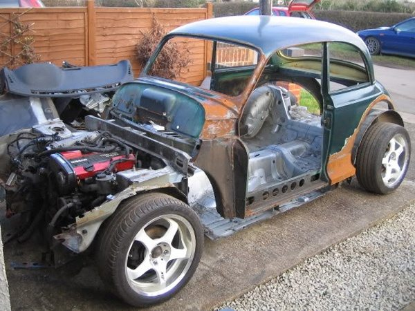 Is It Possible To Take The Shell Of A 1960s Car And