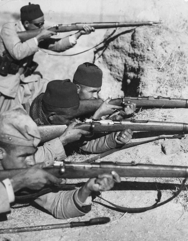What were some of the weapons of the Spanish Civil War? - Quora
