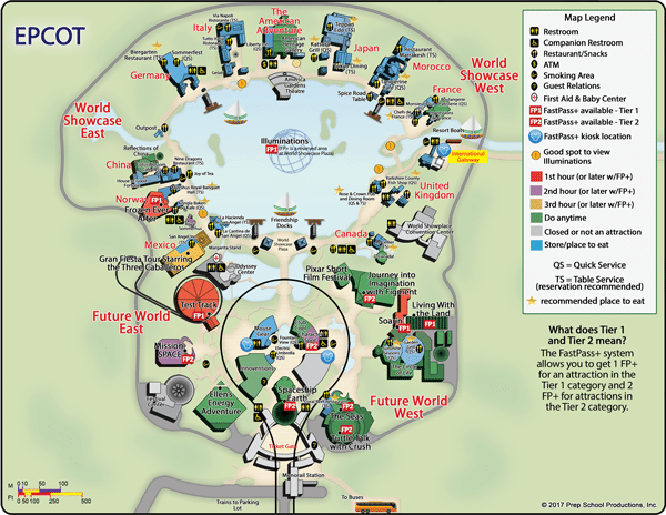 Epcot Rides Map What is Disney's Epcot Park all about?   Quora