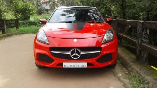 Can I put a Mercedes logo on my Maruti car? - Quora