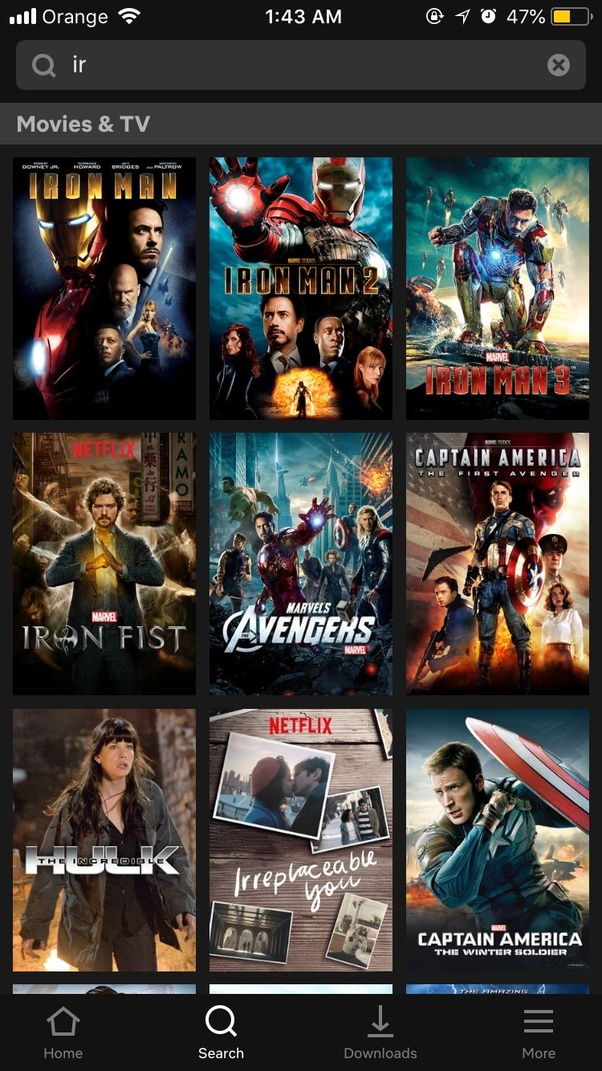 How come iron man 1 2 and 3 aren 39 t on netflix quora - Iron man 1 images ...