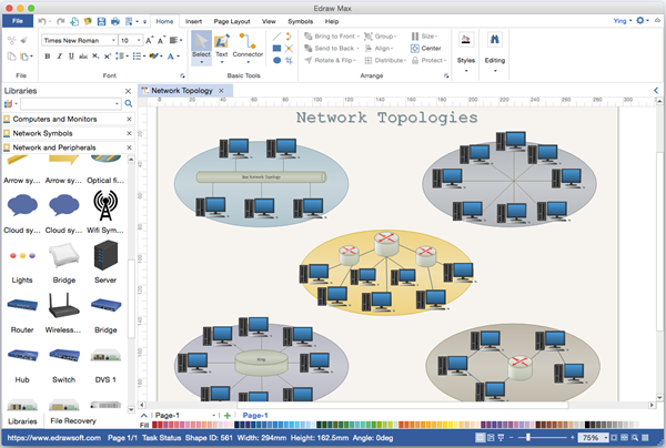 What is the best software to make network diagrams quora such as the basic network equipment cisco symbols aws symbols etc it lets you start with customizable templates and can export to ccuart Images