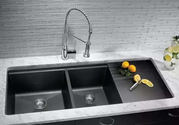 What are some tips and considerations when buying a kitchen sink made of good material kitchen sinks are fundamentally set in a kitchen amid the development or embellishment its truly difficult to move a kitchen sink workwithnaturefo