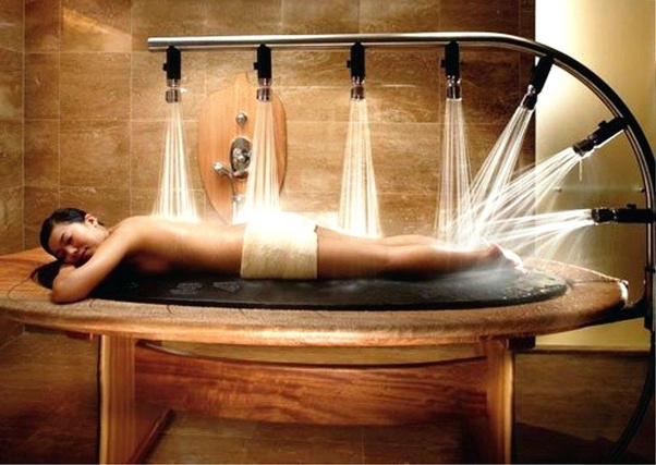 What Happens During A Table Shower Massage Quora
