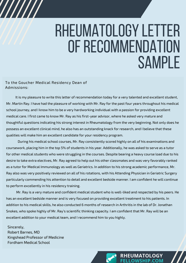 can a family member write a letter of recommendation for