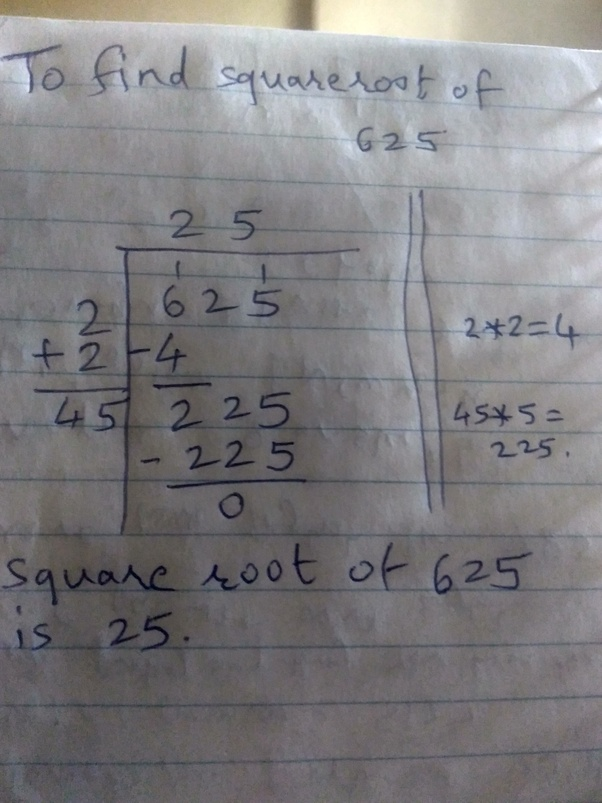 How To Find The Square Root Without Using The Calculator Quora Then the square root of some irrational number is rational. how to find the square root without