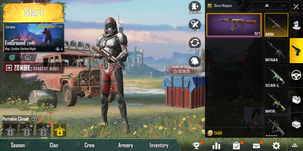 How Many Gun Skins Do You Have In Pubg Mobile Quora