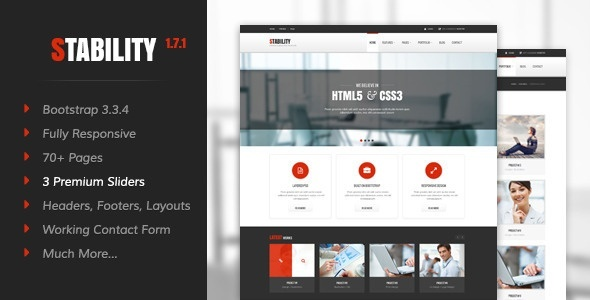 12 most popular responsive html5 css3 website html5 themes stability responsive html5css3 template maxwellsz