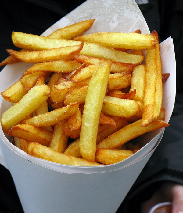 How do they make those delicious fries in the Netherlands