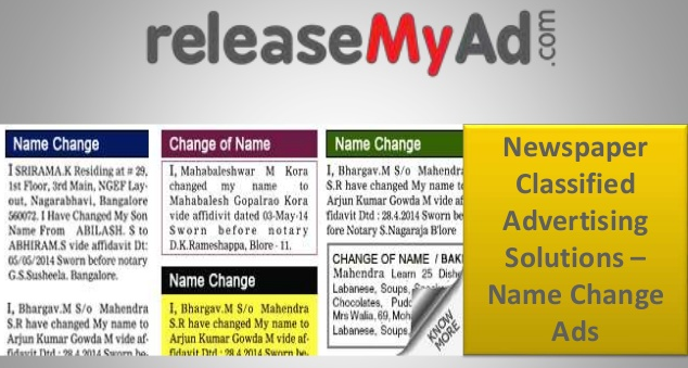 How to book a name-change ad in The Hindu newspaper - Quora