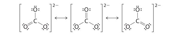 What is the Lewis structure of CO3 2-? - Quora