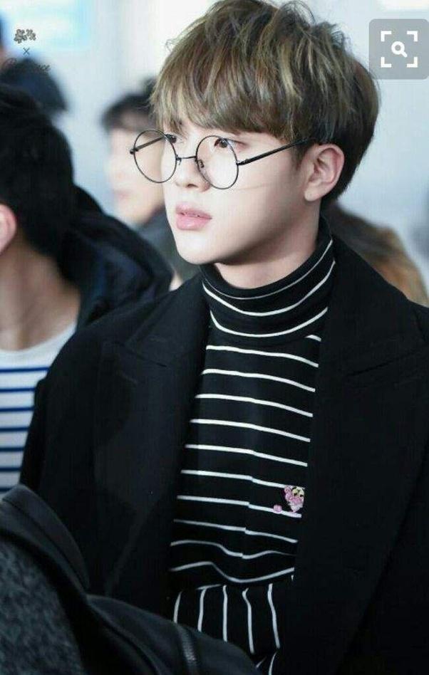 Does Bts Jin Wear Prescription Glasses Quora