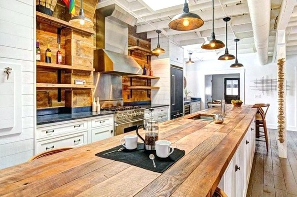 You Can Often Find Savings In Salvaged Wood To Assist With Your Budget.  This May Deliver An Amazing Kitchen At A Fraction Of The Cost.