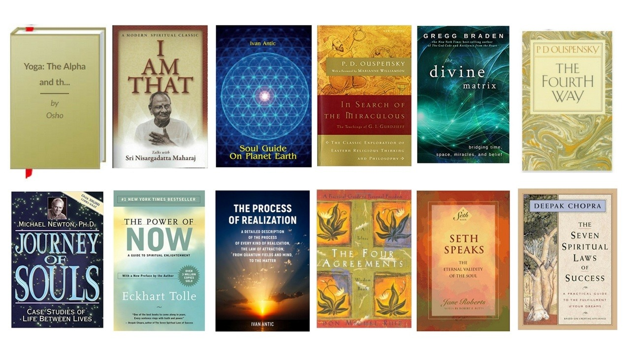 What are some good books for spiritual enlightenment? - Quora