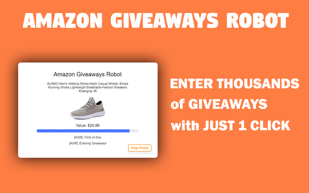 amazon giveaways auto enter
