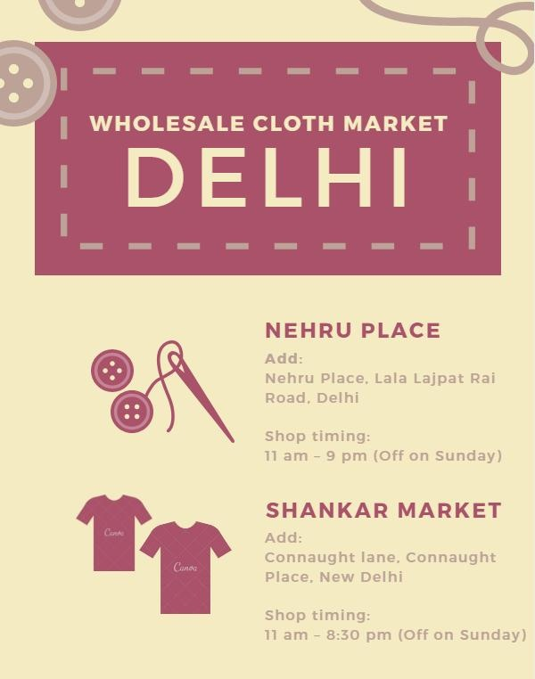 Cheapest wholesale ready-made clothes market in India? - Quora