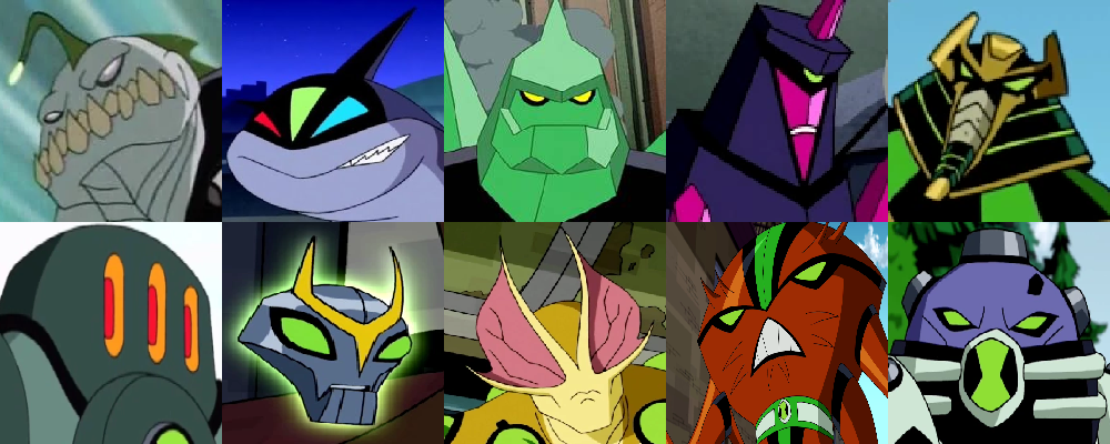 What are some of your favorite Ben 10 alien transformations? - Quora