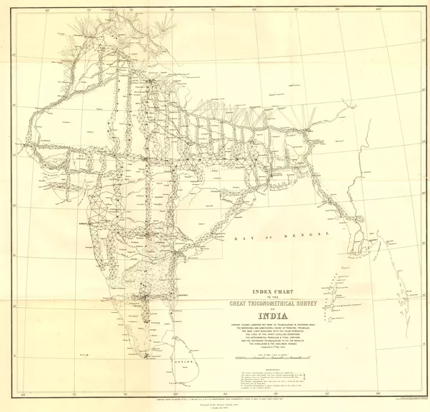 How were maps made before satellites quora the great trigonometric survey of india began in 1801 the indian survey had an enormous scientific impact it was responsible for one of the first accurate sciox Image collections