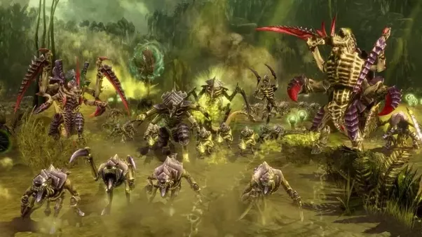 Who would win between the Flood (Halo), the Zerg ...  Who would win b...