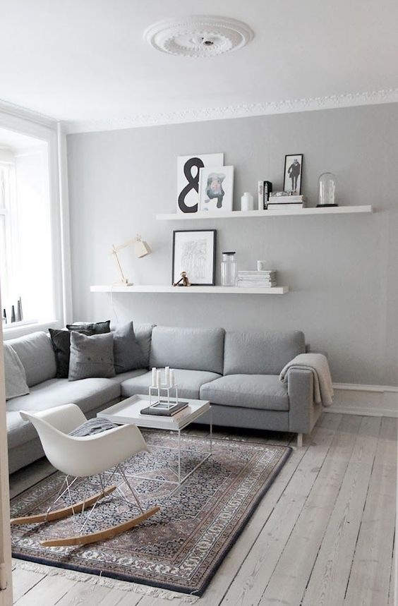 Walls Would Best Suit A Grey Couch