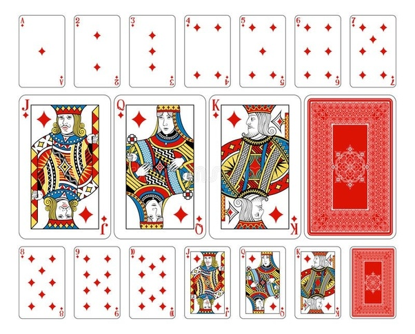 How Many Diamonds Are In A Deck Of Cards Quora