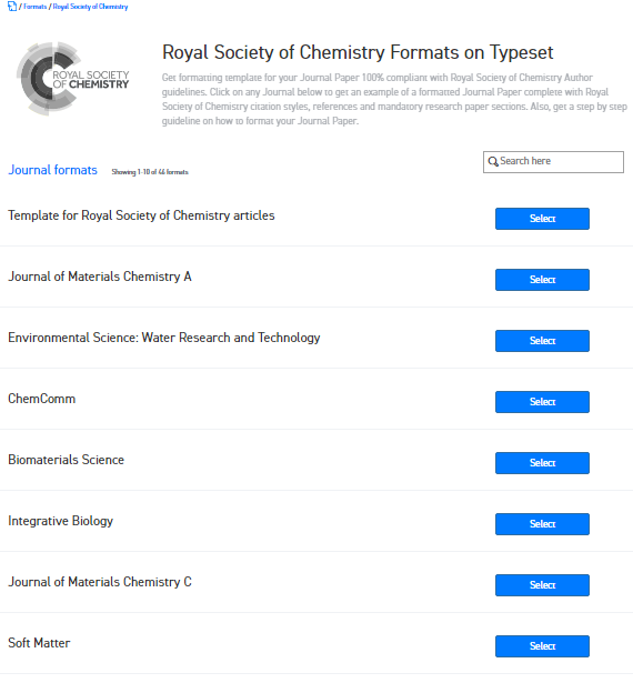 Where can I find the Word template for the Royal Society of ...