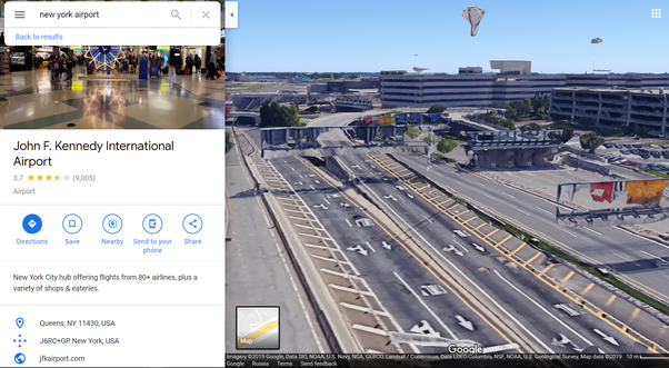 How Does Google Construct The 3d Google Map From Satellite Images