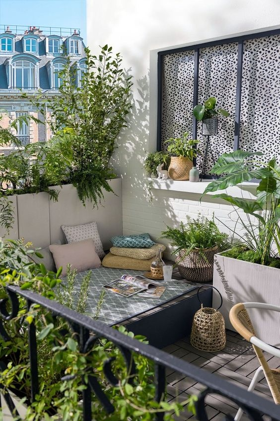 What are some ideas to convert a normal balcony to a ...