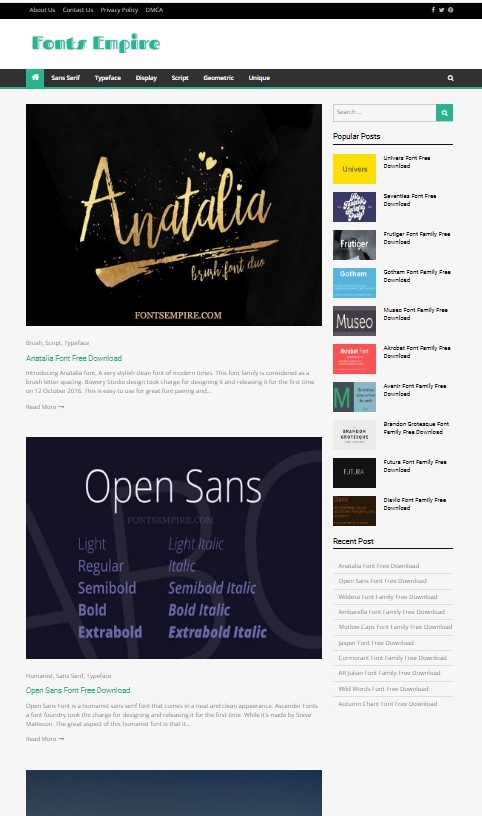 What is the best site for downloading free fonts? - Quora