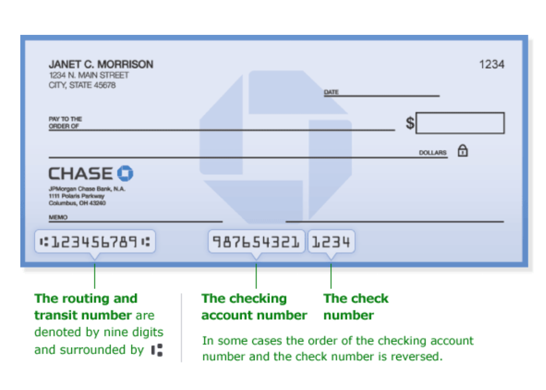 is the routing number for chase in texas the same in all of texas