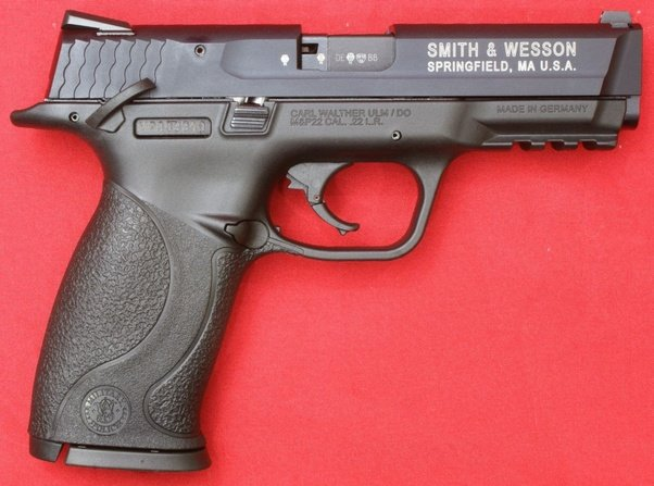 I Used To Own A Smith Wesson M P 22 Also The Second Gun Ever Fired And It Was First Hand An Average Sized Handgun