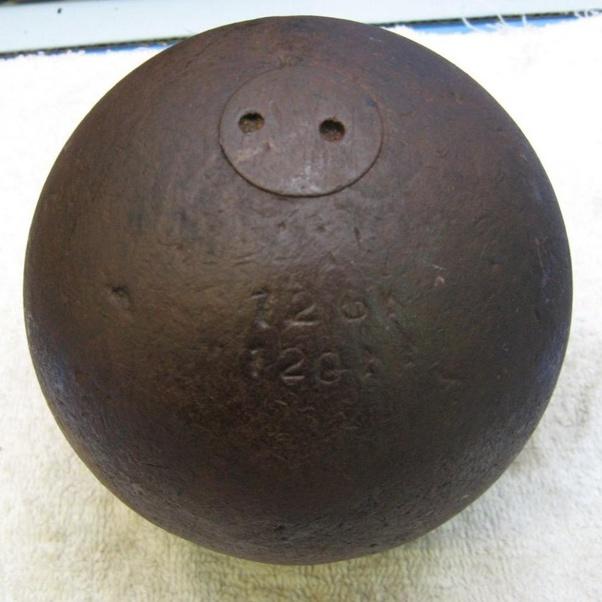 types of civil war cannon balls