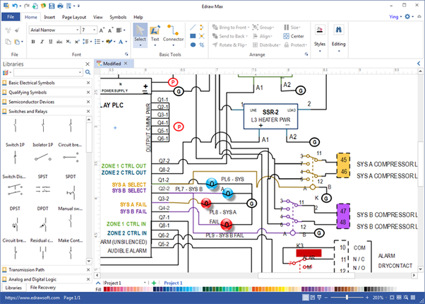 which software should i use for drawing engineering diagrams? quora engineering clip art edraw libraries of engineering symbols