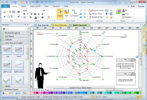 What\'s the fastest way to create a complex spider diagram (shareable ...