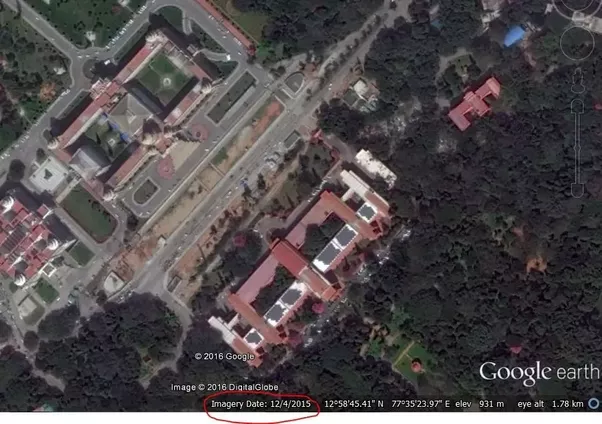 How To Find Out The Date Of Satellite Images Used In Google Maps - Google earth satellite map