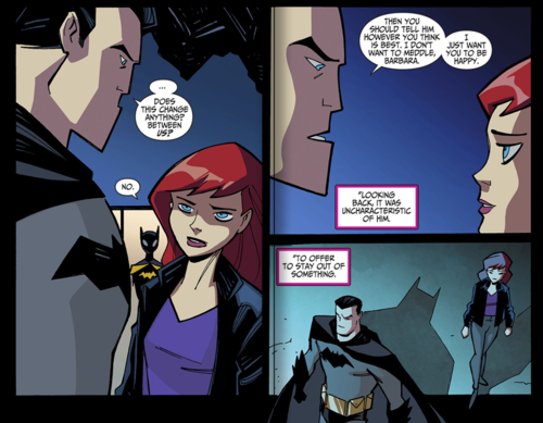 List of people batman has dated or had sex with