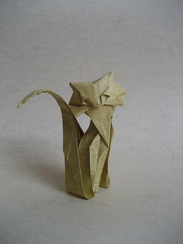 How To Make An Origami Cat