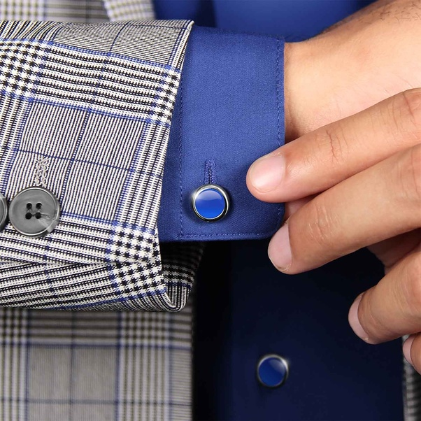 AckfulMens Cufflinks are Buttoned Up with Sleeve Buttons