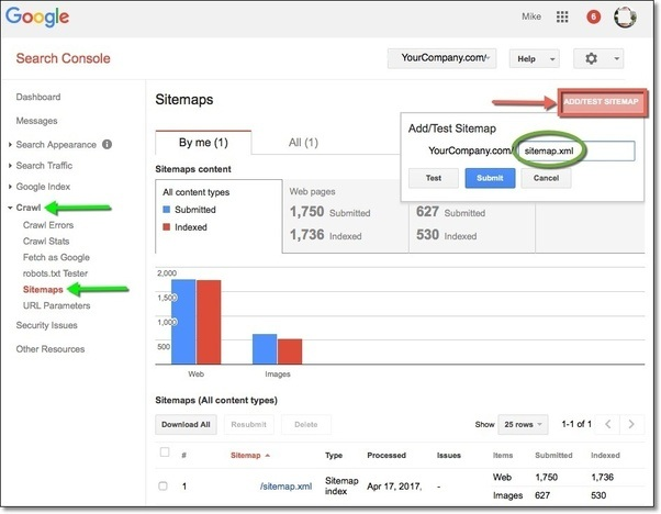 how to update a site map in the google webmaster tool quora