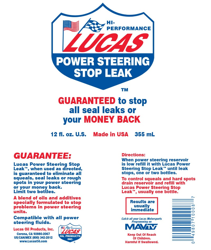 What are some reviews of Lucas Power Steering Stop Leak? - Quora