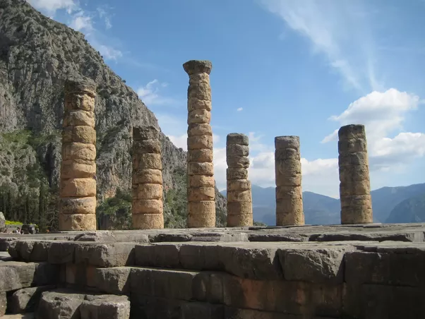 what are the three types of greek columns quora