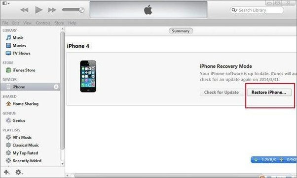 how do i restore my iphone how to recover my iphone 6s restriction passcode quora 18448