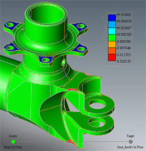 Which CAD lets us compare two 3D models for surface ... on solidworks cad, vectorworks cad, nx cad,