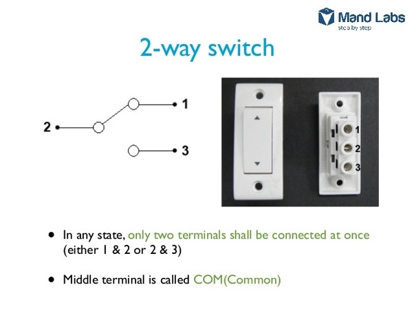 how to wire two switches to control one light fixture  quora
