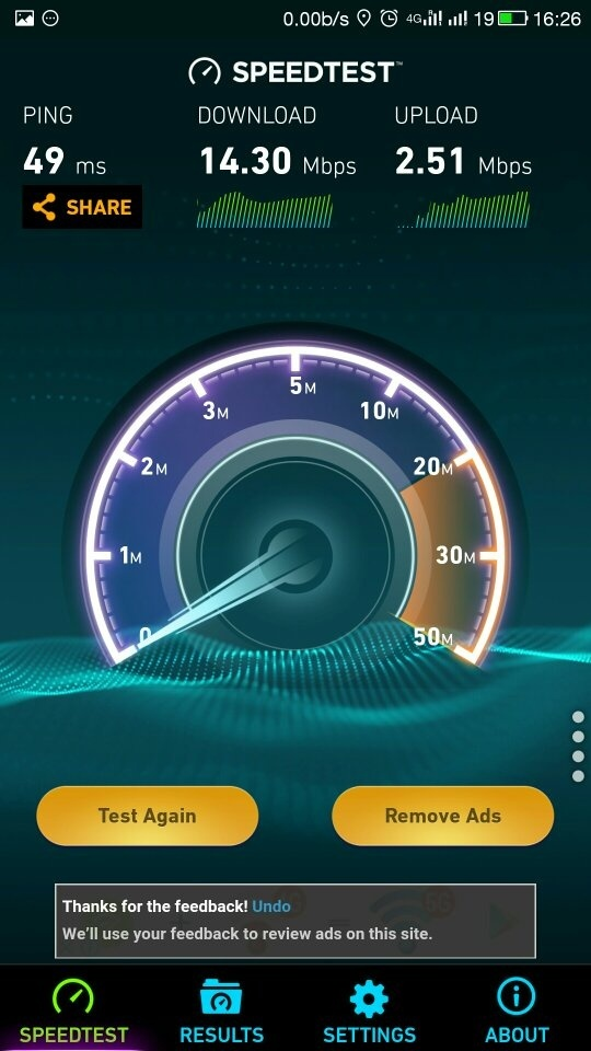 Why the internet speed seems slow even the speed test shows a good comparison between ookla and traispeed test shown stopboris Choice Image
