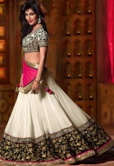 Saree Slim Wedding Dress for Girls