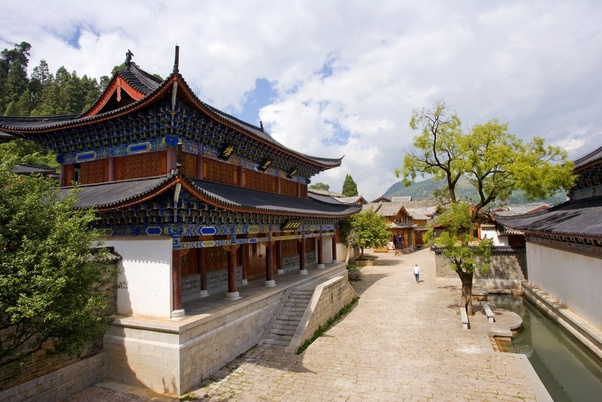 Why Are Most Ancient Chinese Roofs Curved Upward Quora