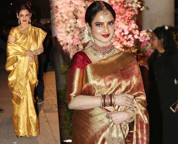 Which Silk Saree Is Best To Wear In Wedding Day Quora