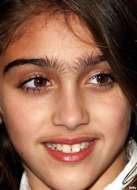 Unibrow Little Girl