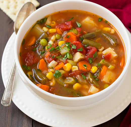 How To Make Simple And Tasty Vegetable Soup